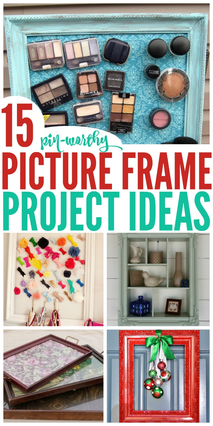 Combine beauty and functionality with these 15 picture frame project ideas.