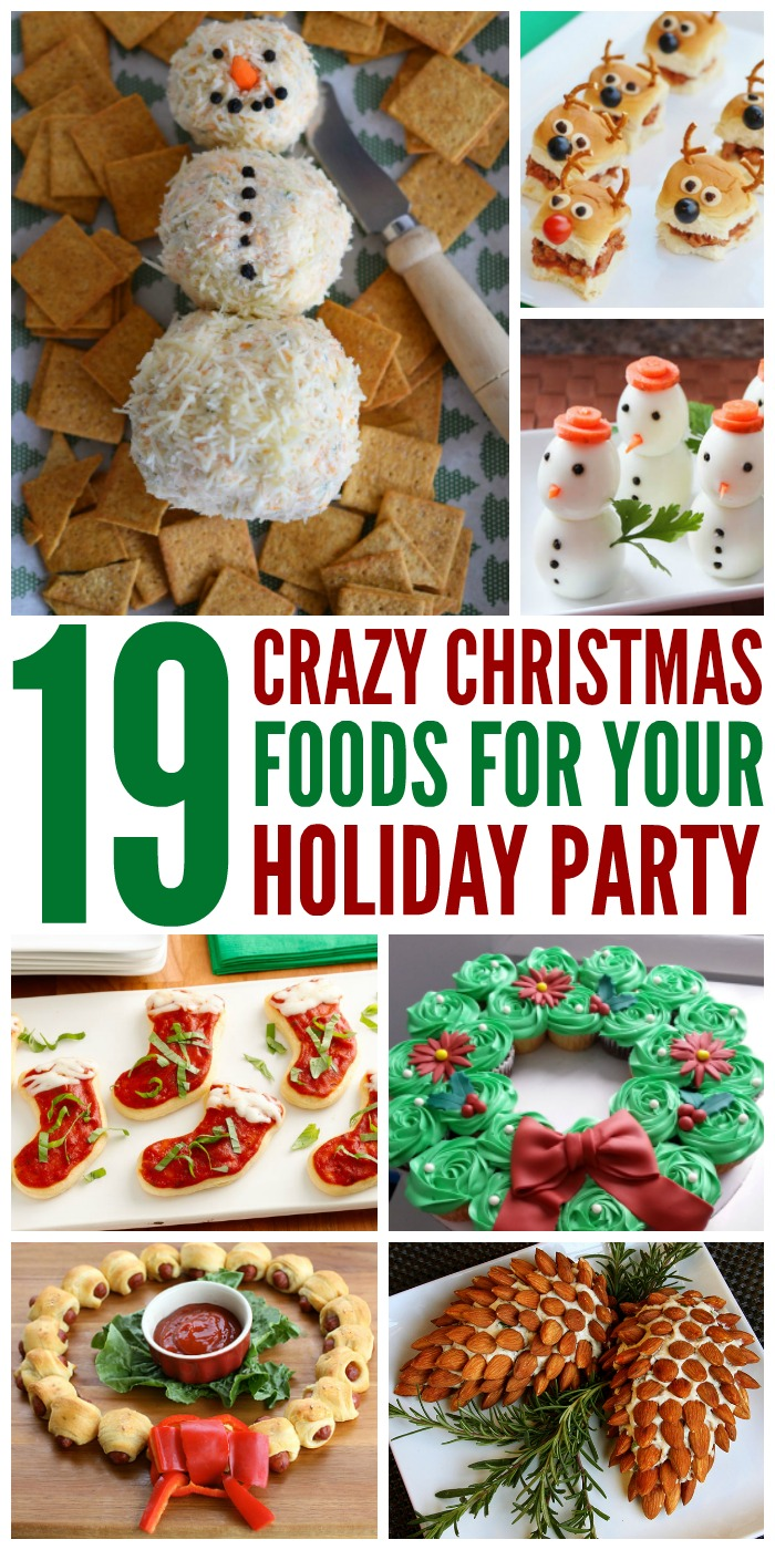 19 Crazy Christmas Foods for Your Holiday Parties