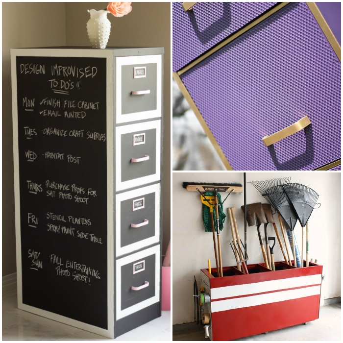 Superbe Diy Filing Cabinet Makeovers