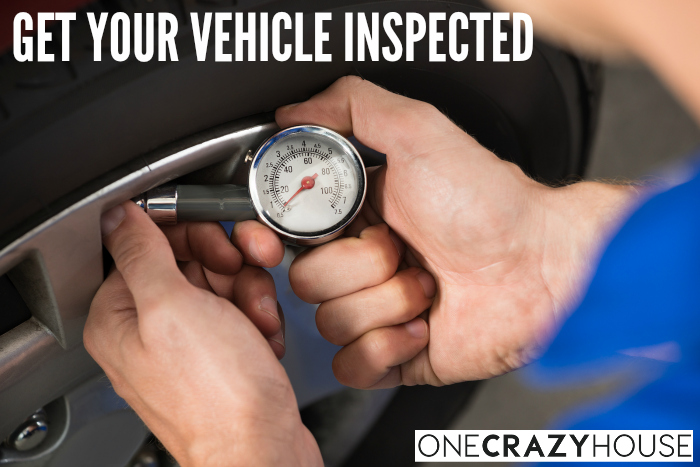 Road Trip Hacks & Tips - Get Your Vehicle Inspected