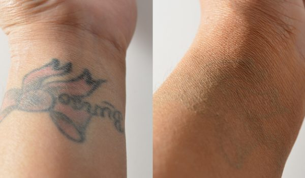 Cover-up your tattoo with makeup that you probably already own
