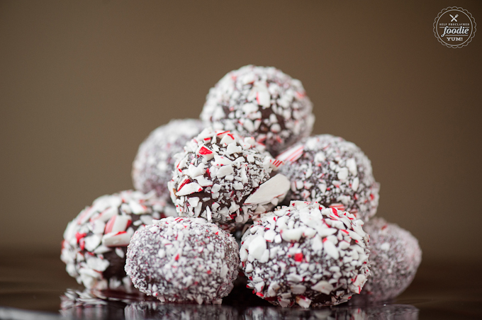 Easy Candy Cane Chocolate Truffle   Self-Proclaimed Foodie