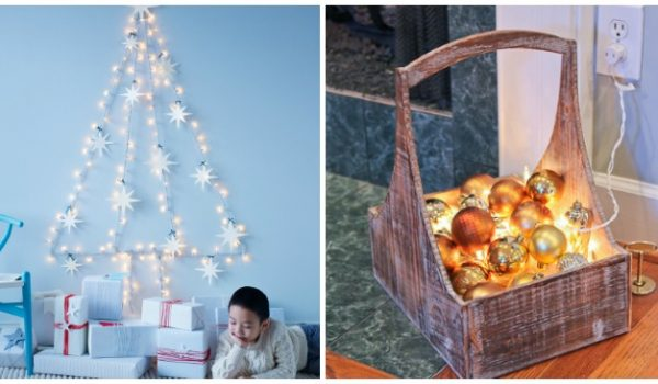 17 sparkling indoor christmas lighting ideas