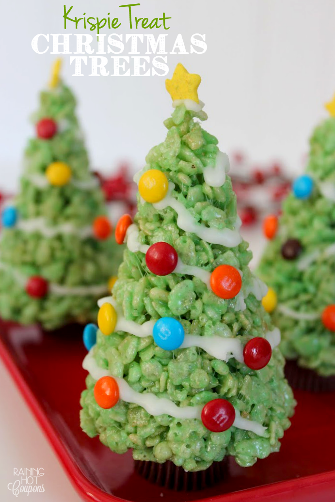 krispie-treat-christmas-trees