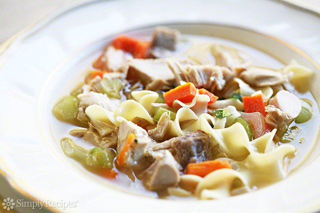 Mom's Turkey Soup Recipe | Simply Recipes