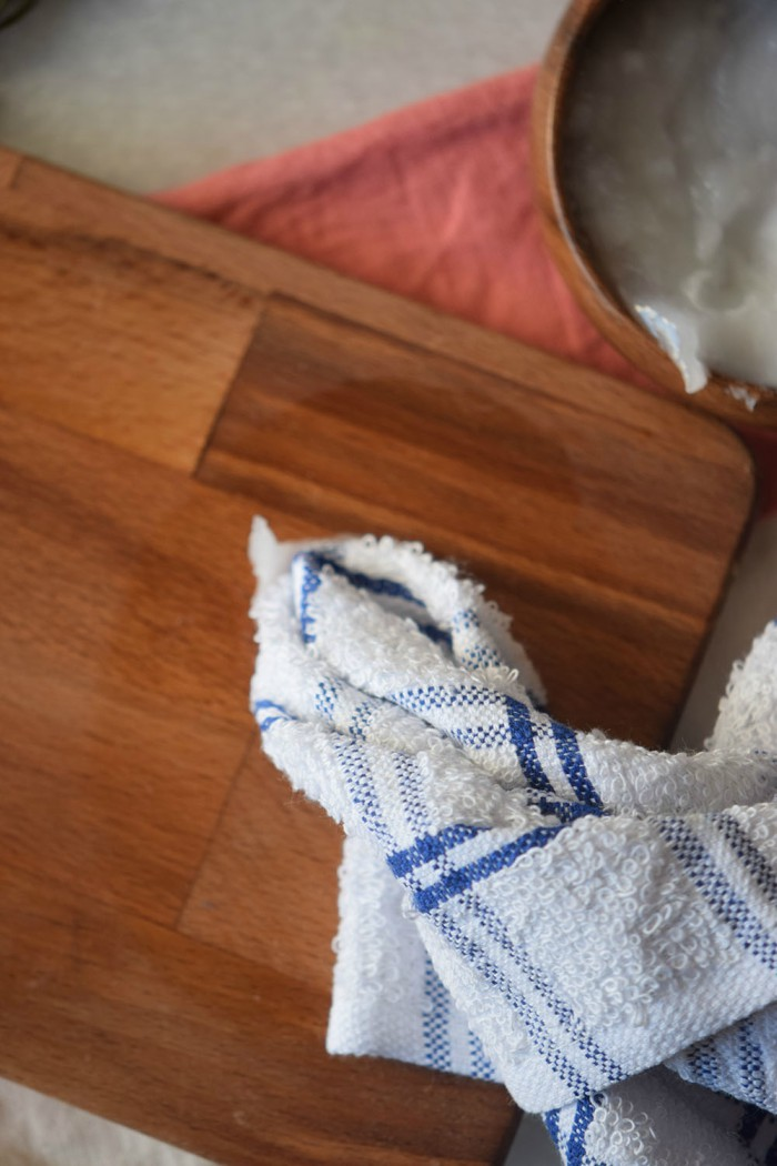 Make wood look like new again with this easy coconut oil wood restorer