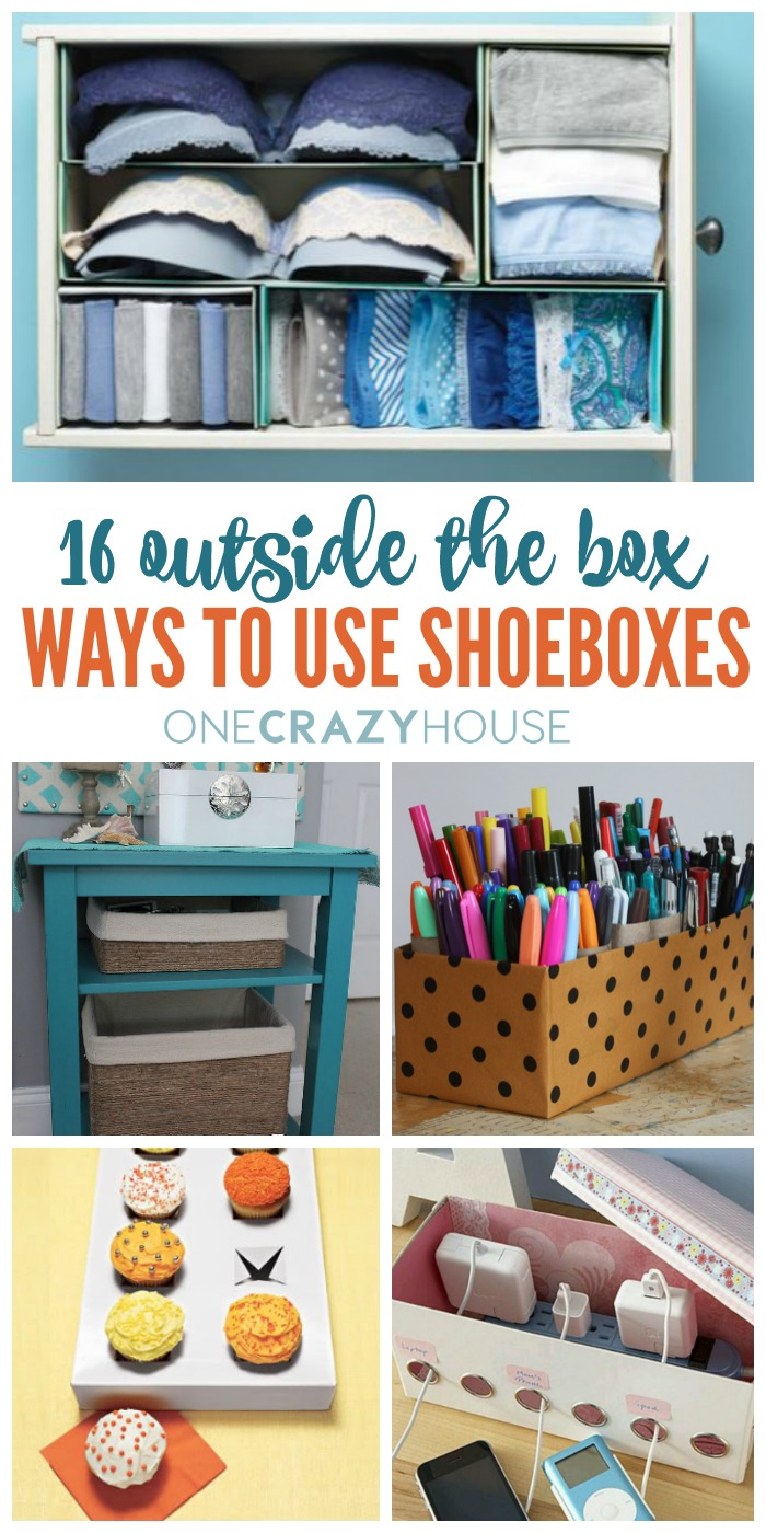 16 Ways to Use Shoeboxes That You've Probably Never Thought Of