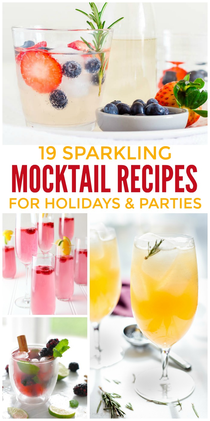 19 Mocktail Recipes for Holidays and Parties