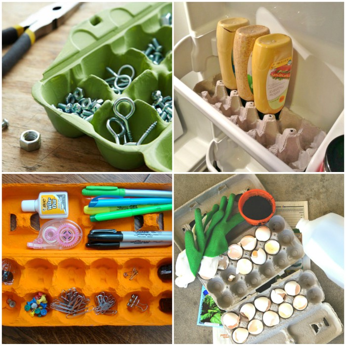 Smart Ways to Use Egg Cartons