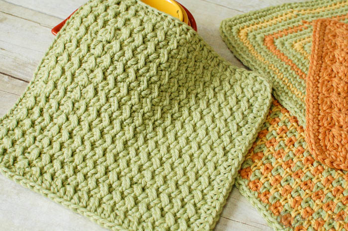 crocheted-dishcloths