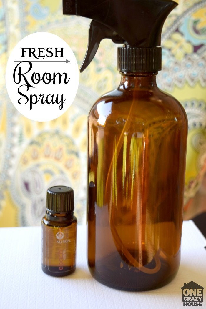 fresh-room-spray with essential oils