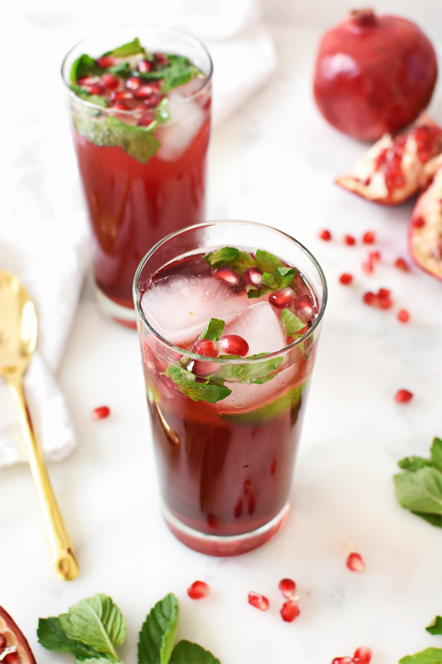 pomegranate-mojito-mocktail