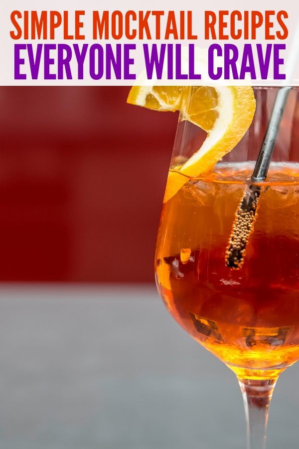 simple mocktail recipes