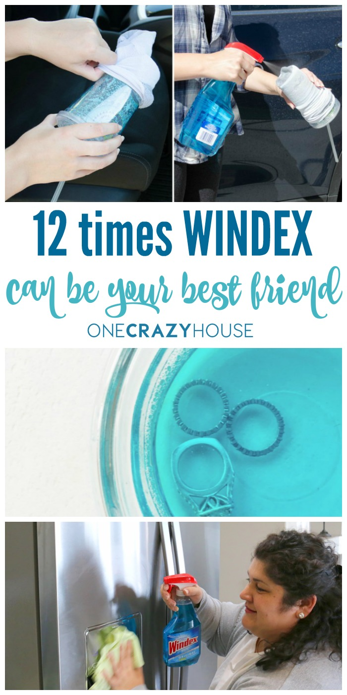12 Times Windex Can Be Your Best Friend - Windex Uses You've Probably Never Thought Of