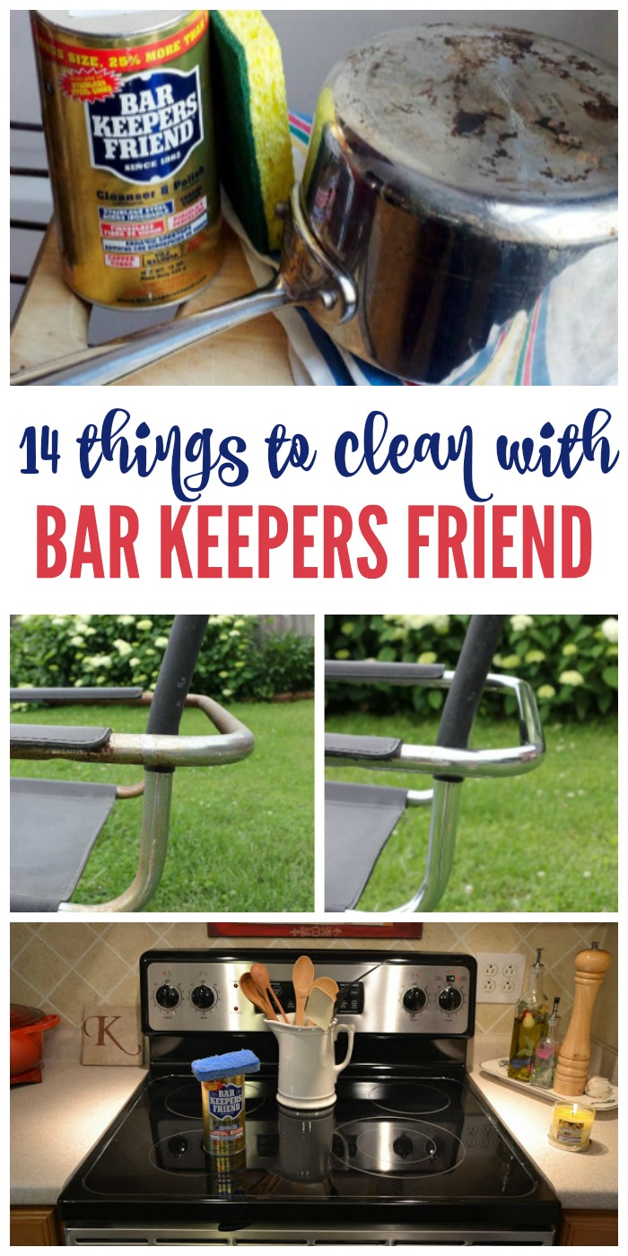 14 Things to Clean with Bar Keepers Friend