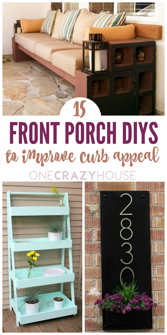 15 Front Porch DIYs to Increase Your Curb Appeal