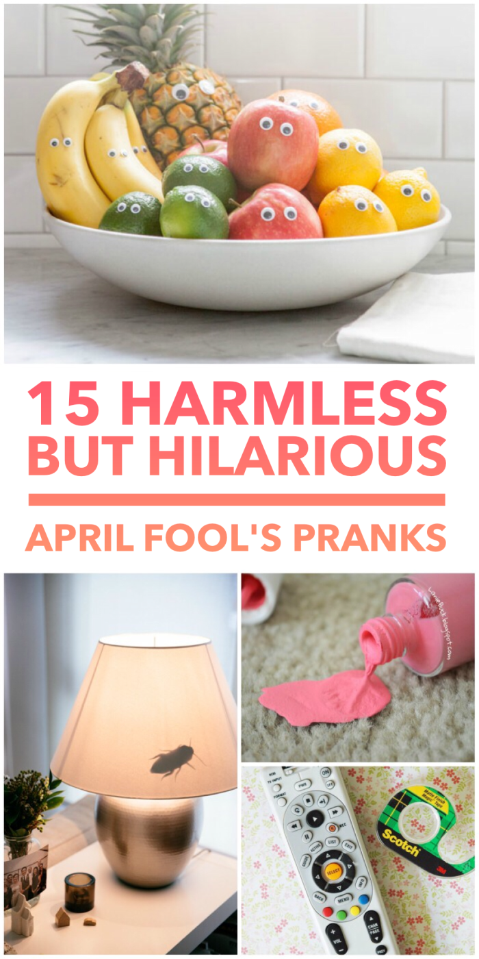 15 Harmless but Hilarious Pranks for April Fool's Day