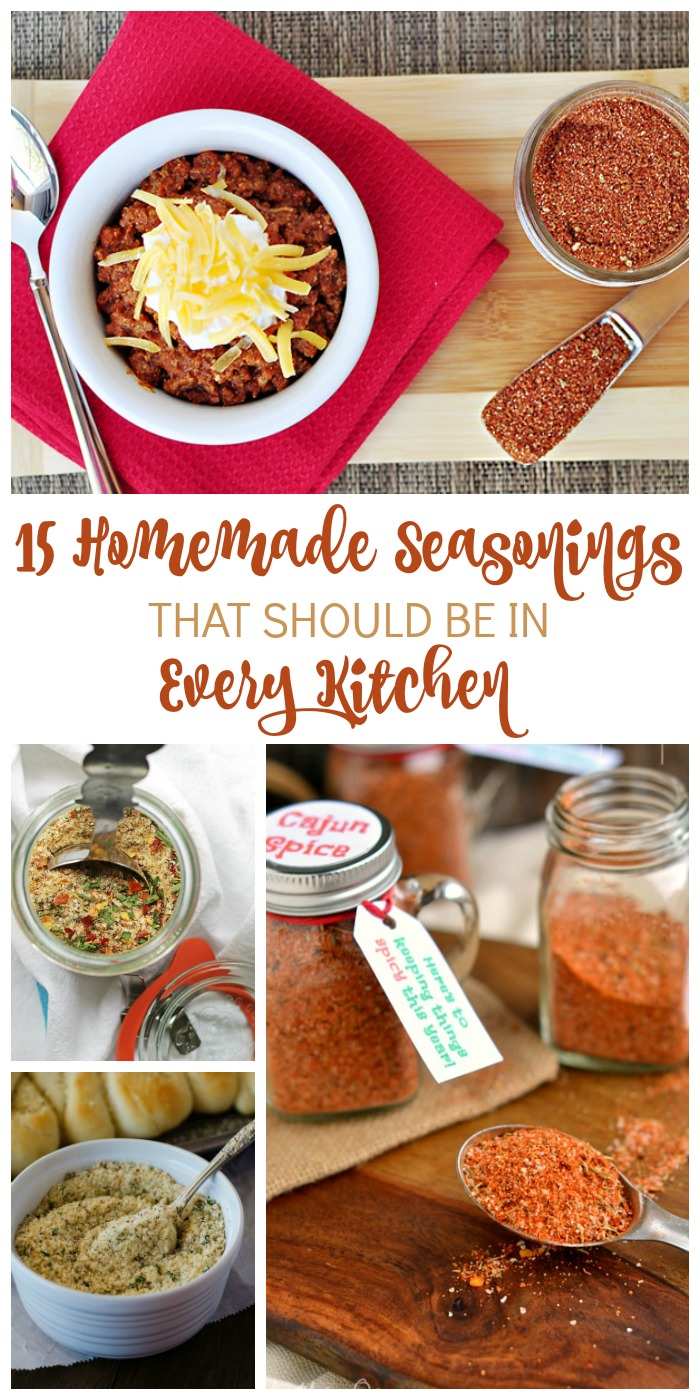 15 Homemade Seasonings Everyone Should Have in the Kitchen
