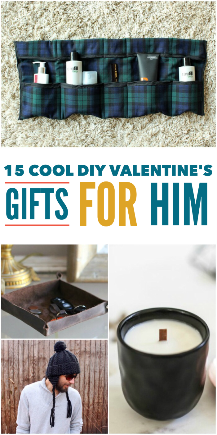15 DIY Valentine's Day gifts for him, that he'll actually love!