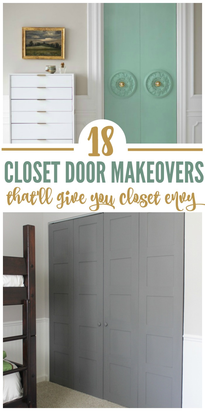 Beau 18 Closet Door Makeovers That Will Give You Closet Envy