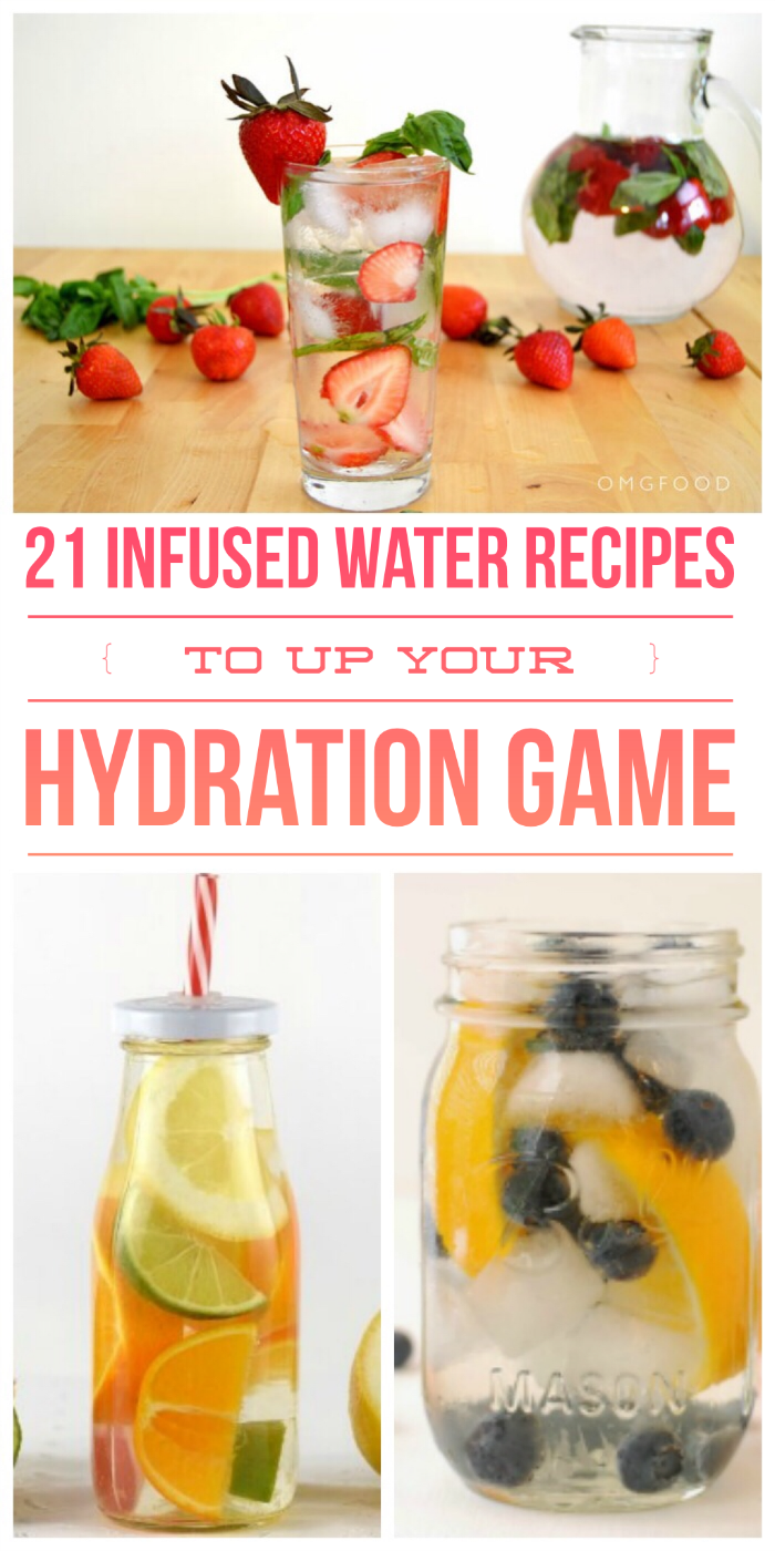 21 Infused Water Recipes to Up Your Hydration Game