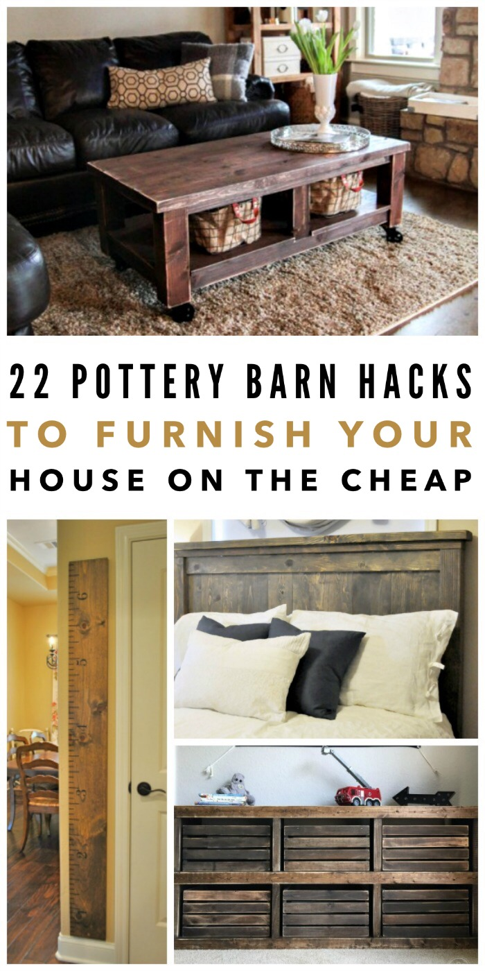 22 Pottery Barn Hacks to Furnish Your House on the Cheap