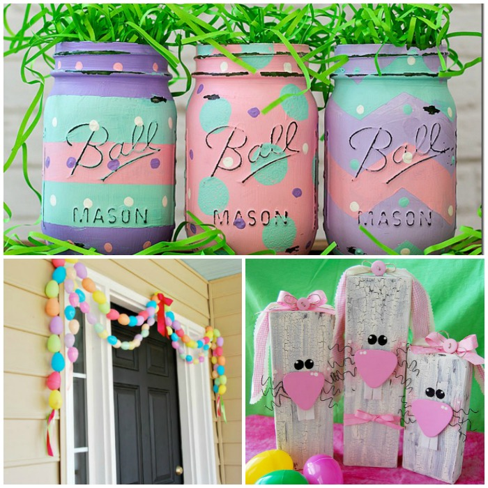 18 Spring Decor Ideas: 17 Easiest Ever Easter Decorating Ideas