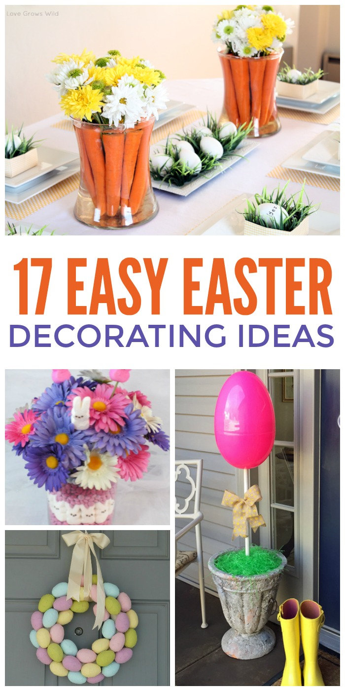17 easiest ever easter decorating ideas - Easter Decorating Ideas