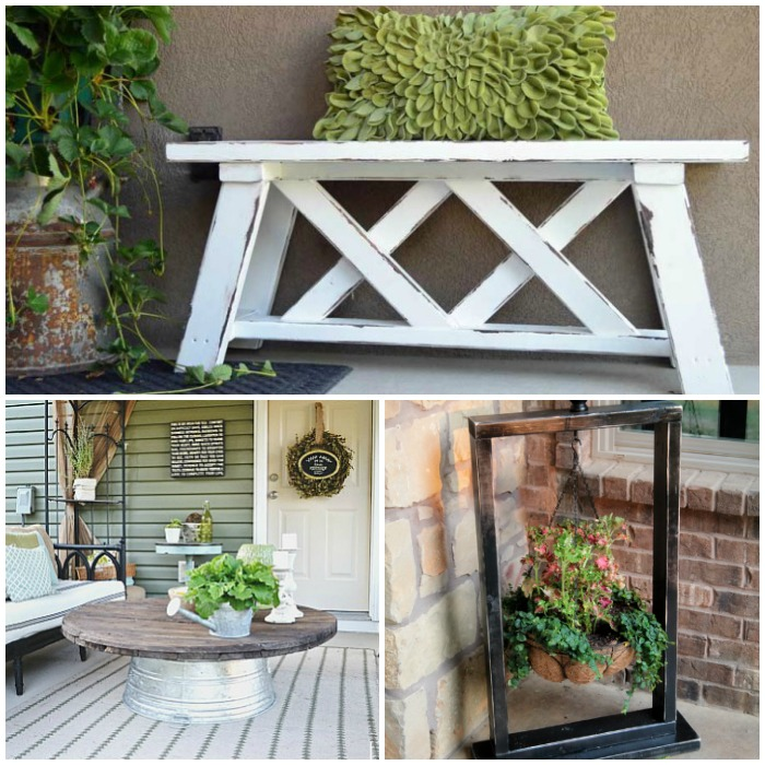 Front Porch DIYs to Add Curb Appeal