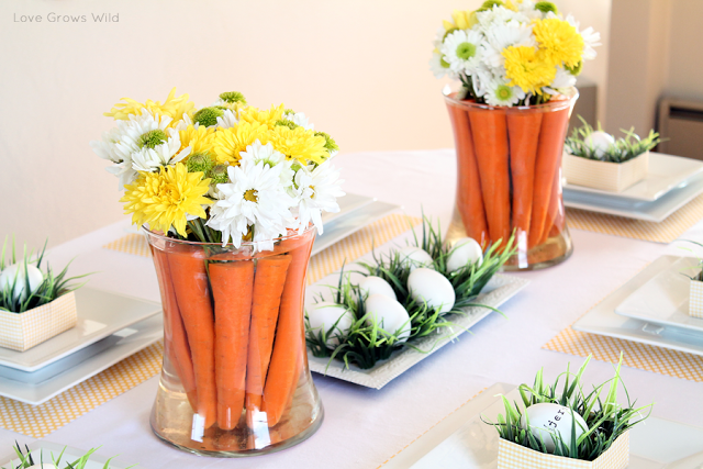 carrot-and-flower-centerpieces