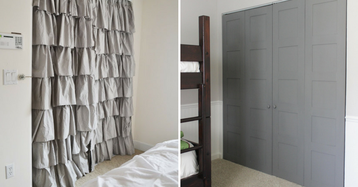18 Makeover Closet Door Ideas That'll Give You Closet Envy
