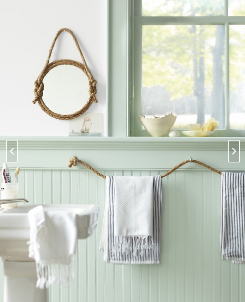 The Rope Towel Holder Seems To Be Pretty Por Actually Here S Another Variation