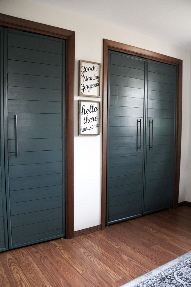 These Fabric Covered Closet Doors Can Add Dimension To A Room