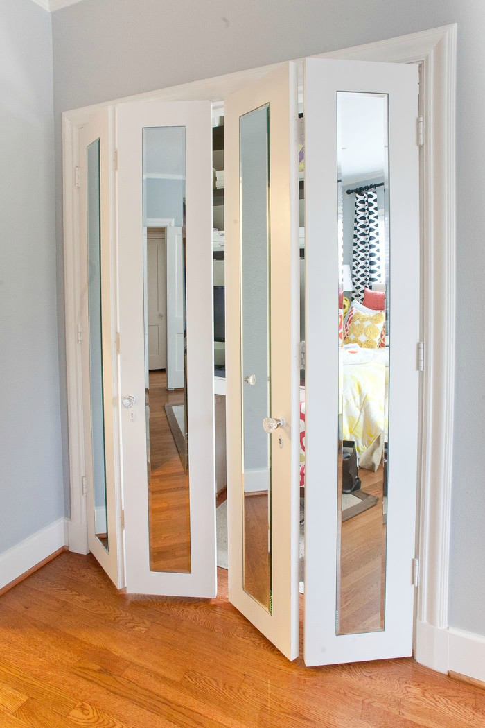 Captivating Slim Mirrors On Doors