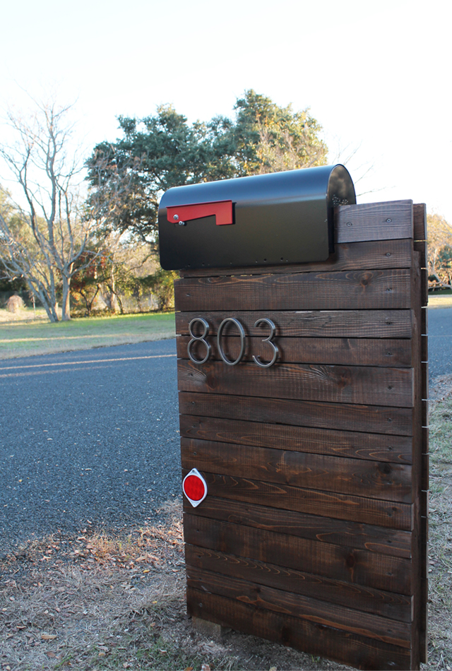 stained-wood-mailbox