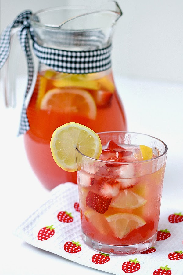 strawberry-watermelon-infused-water