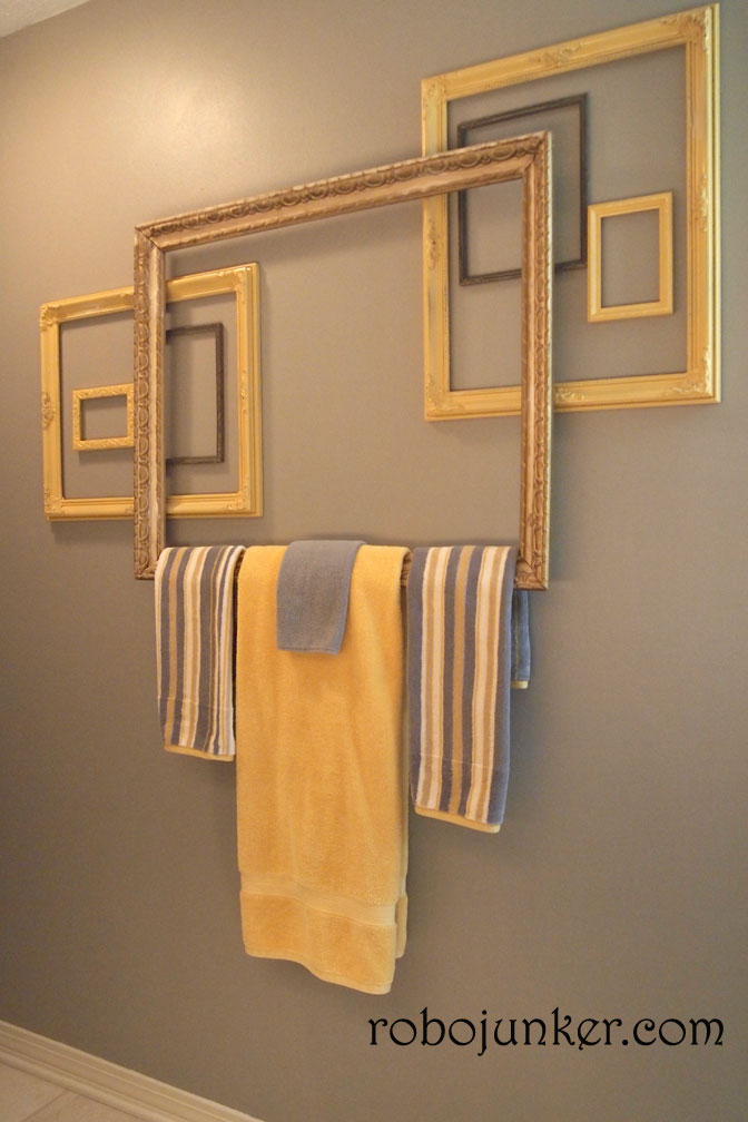 15 DIY Towel Holders to Spruce Up Your Bathroom