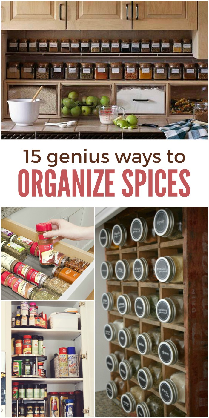 Ways To Read Tarot Cards: 15 Genius Ways To Organize Spices And Save Cabinet Space