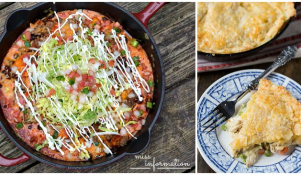 17 Cast Iron Skillet Recipes