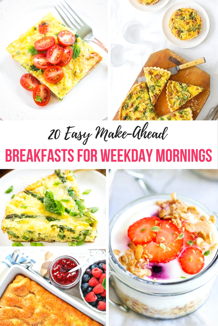 I found these amazing make ahead breakfast recipes to break this unhealthy habit and search for better alternatives.