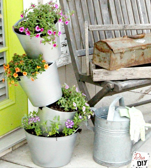 16 DIY Flower Pots to Get You Giddy About Gardening