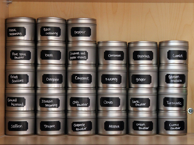 Need To Squeeze Your Spices In A Small Space This Pantry Spice Organization Idea Is So Clever She Made The Most Of Unused Wall By Attaching