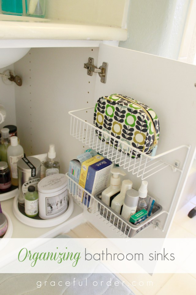 organizing under the bathroom sink 15 ways to organize the bathroom sink 23893