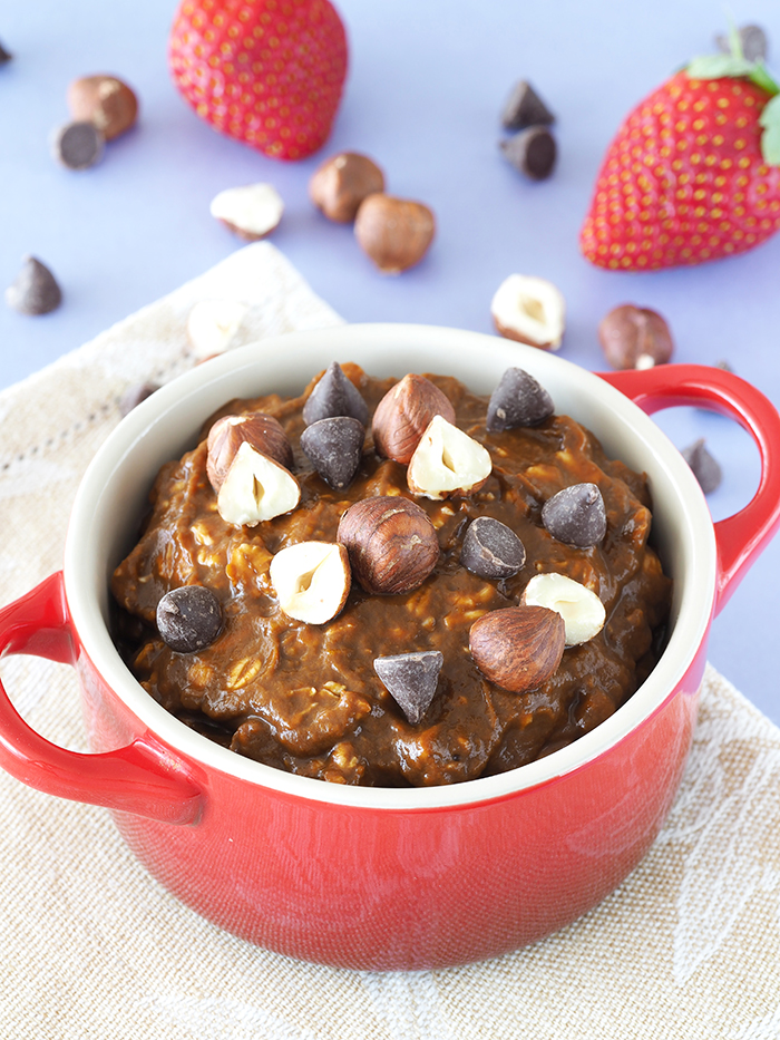 Chocolate Hazelnut Overnight Oats