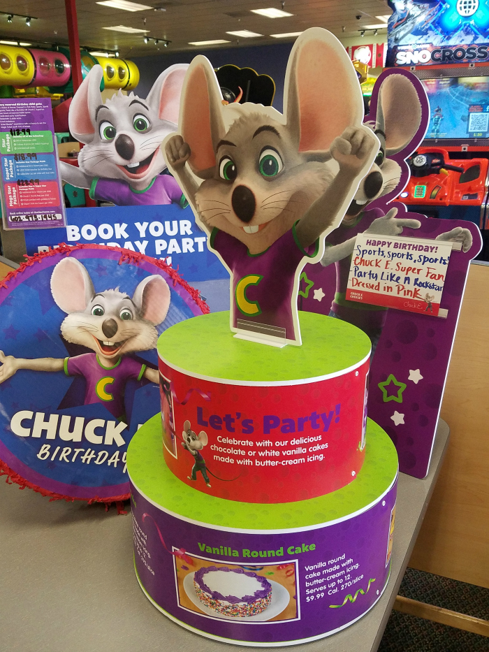 Chuck E. Cheeses Still a Place for Birthdays