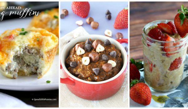 20 Easy Make Ahead Breakfast Recipes