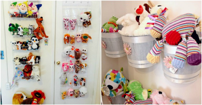 & 18 Genius Stuffed Animal Storage Ideas