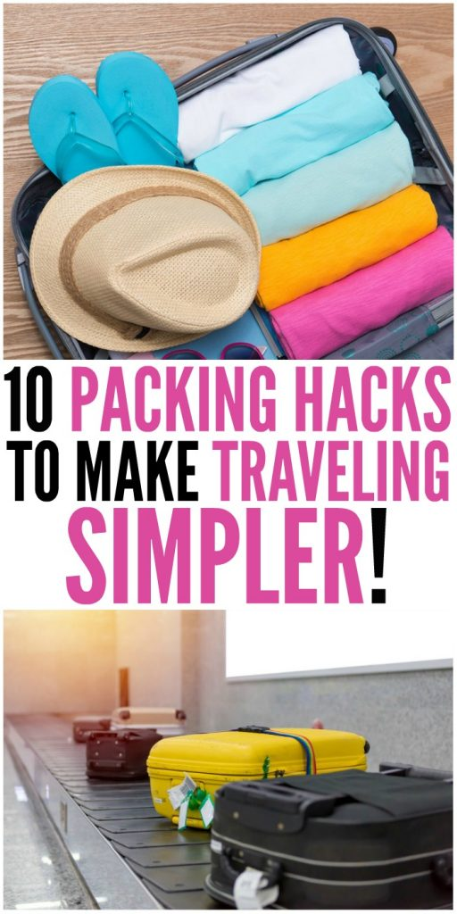 10 Packing Hacks to Make Traveling Simpler