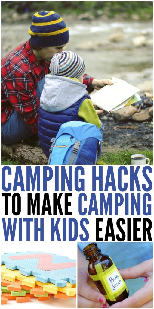 Camping Hacks To Make With Kids Easier