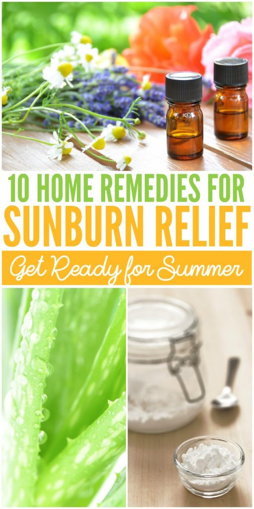 Get ready for summer with these home remedies for sunburns.